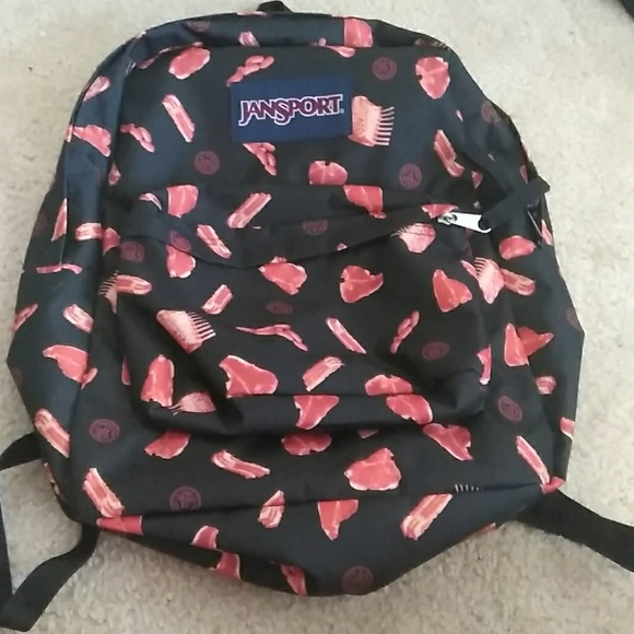 Jansport Accessories   Meat Backpack   Poshmark 0a62d50326